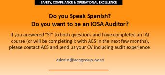 IOSA Auditors
